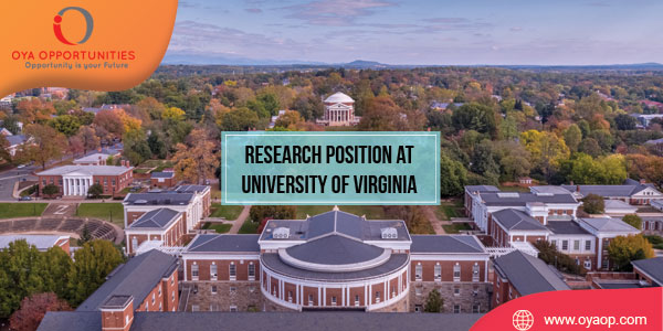 Research Position at University of Virginia