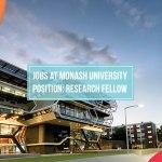 Research jobs at Monash University