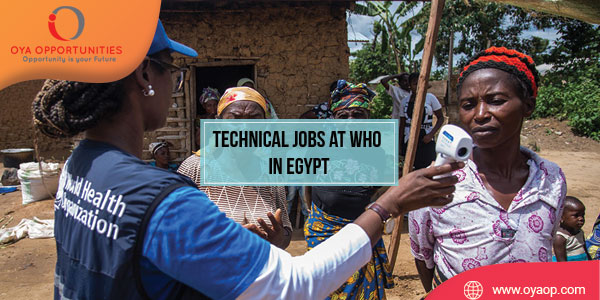 Technical Jobs at WHO in Egypt