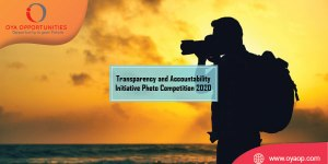 Transparency and Accountability Initiative Photo Competition 2020