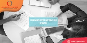 Program Support Intern at UNU Germany