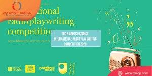 BBC & British Council International Radio Play Writing Competition 2020