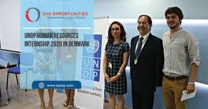 UNDP Human Resources Internship 2020 in Denmark