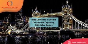 695th Conference on Civil and Environmental Engineering, 2020, UK