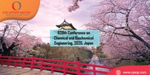 838th Conference on Chemical and Biochemical Engineering, 2020, Japan