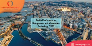 844th Conference on Management and Information Technology, 2020
