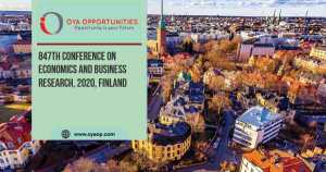 847th Conference on Economics and Business Research, 2020, Finland