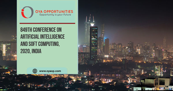 849th Conference on Artificial Intelligence and Soft Computing, India