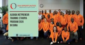 Alibaba Netpreneur Training: Ethiopia Program