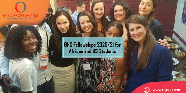 Global Health Corps Fellowships 2020/21 for African and US Students