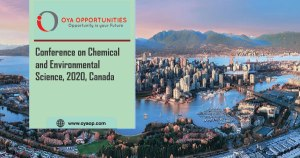 ISER Conference on Chemical and Environmental Science, Canada