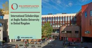 International Scholarships at Anglia Ruskin University