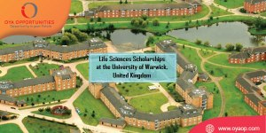 Life Sciences Scholarships at the University of Warwick