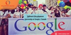 Software Development Internship at Google 2020 in Canada