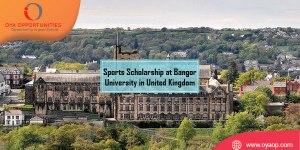 Sports Scholarship at Bangor University in United Kingdom