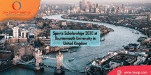 Sports Scholarships 2020 at Bournemouth University in United Kingdom