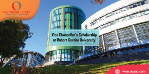 Vice Chancellor's Scholarship at Robert Gordon University