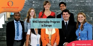 WHO Internship Program in Europe