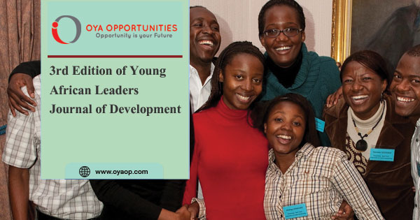 3rd Edition of Young African Leaders Journal of Development