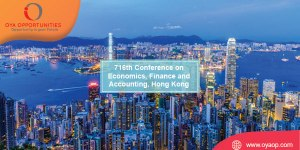716th Conference on Economics, Finance and Accounting, Hong Kong