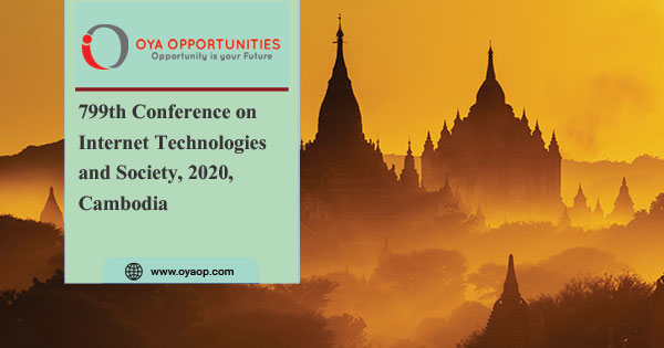 799th Conference on Internet Technologies and Society, 2020, Cambodia