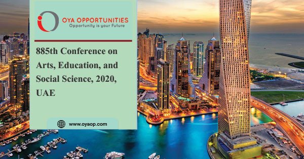 885th Conference on Arts, Education, and Social Science, 2020, UAE