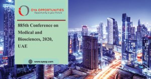 885th Conference on Medical and Biosciences, 2020, UAE
