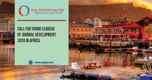 Call for Young Leaders of Journal Development 2020