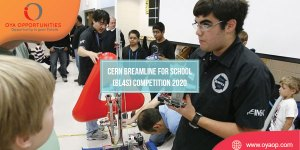 CERN Breamline for School (BL4S) Competition 2020