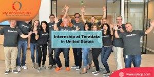 Internship in Teradata in United States