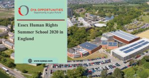 Essex Human Rights Summer School 2020 in England