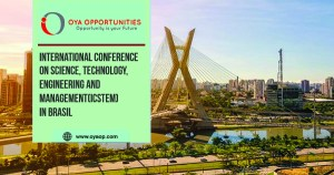 International Conference on Science, Technology, Engineering and Management(ICSTEM) in Brasil
