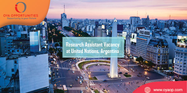 Research Assistant Vacancy at United Nations, Argentina