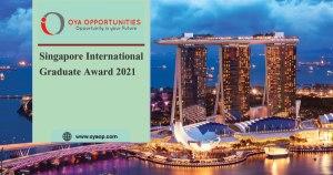 Singapore International Graduate Award 2021