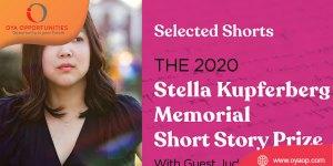 Stella Kupferberg Memorial Short Story Prize 2020