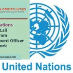 United Nations Vacancy Call for Program Management Officer in New York