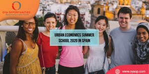 Urban Economics Summer School 2020 in Spain