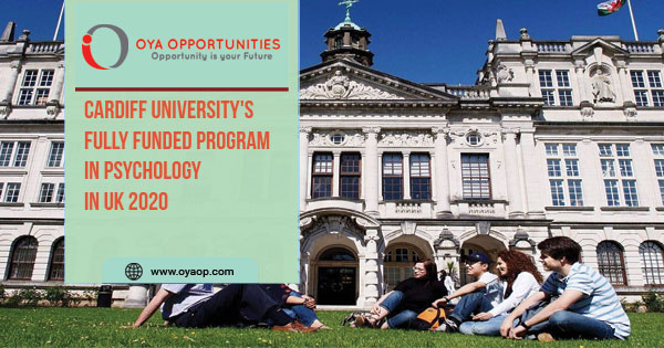 Cardiff University's Fully Funded Program in Psychology