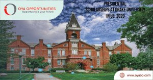 presidential scholarships at drake university