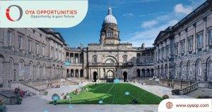 University of Edinburgh International Scholarships in UK, 2020