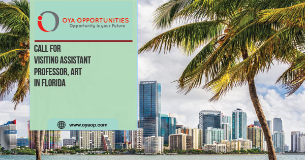 Call for Visiting Assistant Professor, Art in Florida