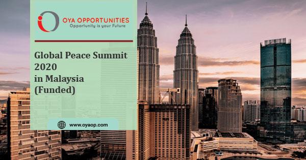 Global Peace Summit 2020 in Malaysia