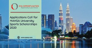 Applications Call for MAHSA University Sports Scholarships 2020