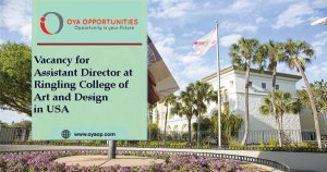 Vacancy for Assistant Director at Ringling College of Art and Design in USA