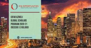 CIFAR Azrieli Global Scholars Program(Receive-$100,000)