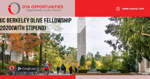 UC Berkeley Olive Fellowship 2020(with stipend)