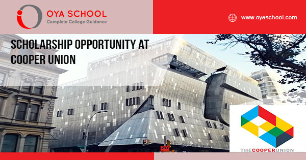 Scholarship Opportunity at Cooper Union