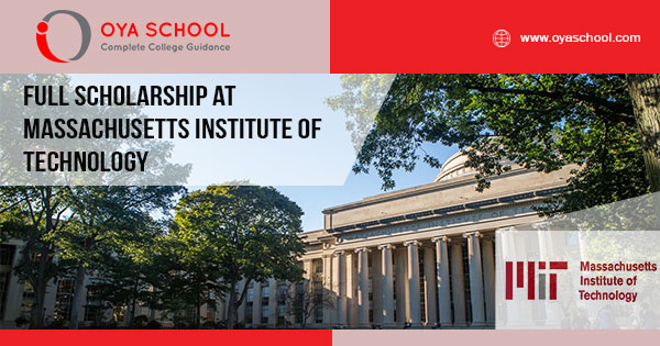 Full Scholarship at Massachusetts Institute of Technology