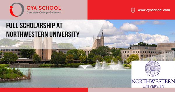 Full Scholarship at Northwestern University