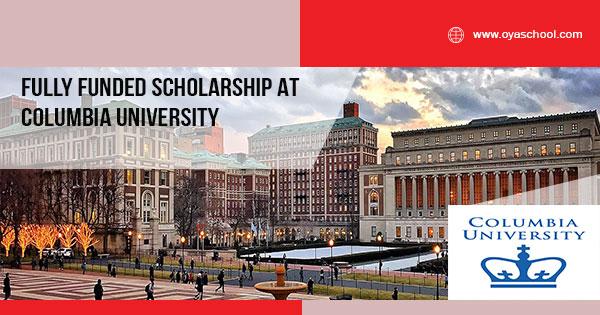 Fully Funded Undergraduate Degree at Columbia University